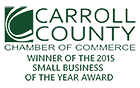 Carrol County Small Business Award 2015